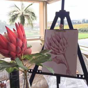 wine art lily brannon protea copy